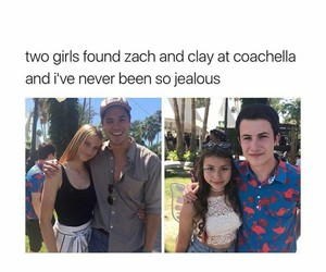 coachella, clay jensen, and 13 reasons why image