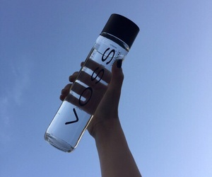 voss, blue, and sky image