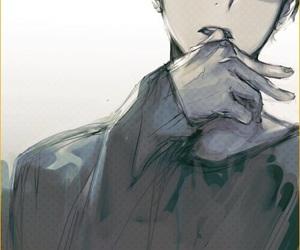 anime, haikyuu, and boy image