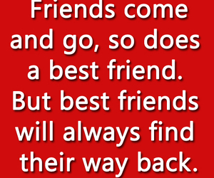 friendship, best friends, and quotes image
