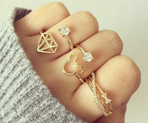 rings, diamond, and accessories image