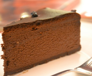 chocolate, creamy, and dessert image