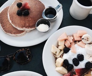 breakfast, drink, and food image