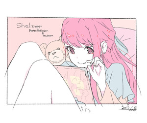 shelter, cute, and anime image