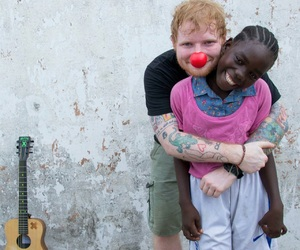 ed sheeran and coming relief image