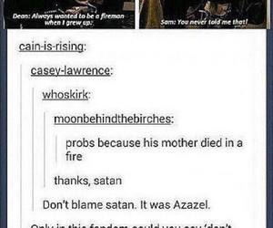 cool, dean winchester, and funny image