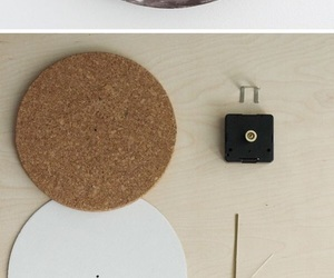 diy, clock, and moon image