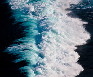 cool, waves, and ocean image