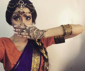 beautiful, indian, and new year image