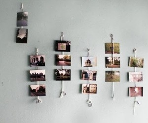 diy, photos, and wall decoration image