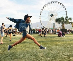 coachella, girl, and boho image