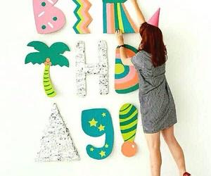 decoracion, diy, and happy birthday image