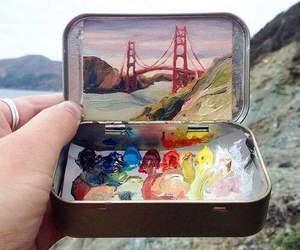 amazing, art, and bridge image