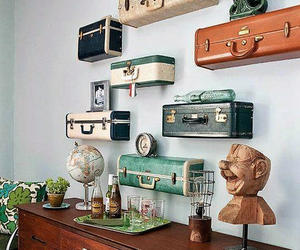 vintage, design, and suitcase image