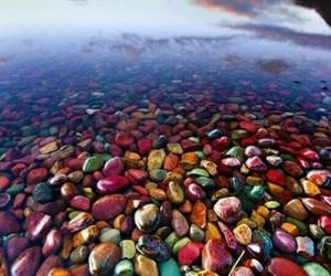 nature, lake, and stone image