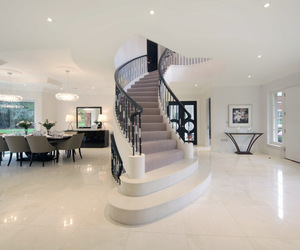 architecture, staircase, and white image