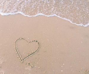 beach sea love image
