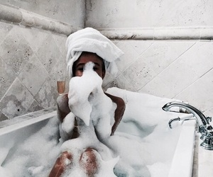 bath and cozy vibes image