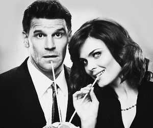 bones, booth, and david boreanaz image