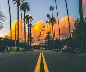 blue, clouds, and california image