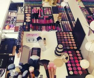 make up, makeup, and makeup artist image