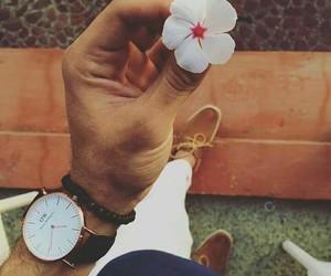 ساعة, حياة, and وردة image