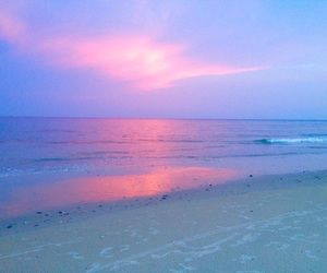 sky, aesthetic, and beach image