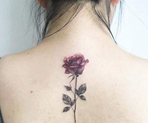 flower, inspiration, and tattoo image