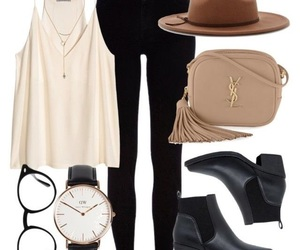 accesories, black, and fashion image