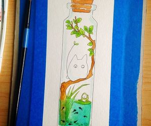 artist, art, and watercolor image