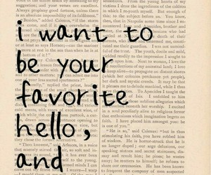 love, quotes, and hello image