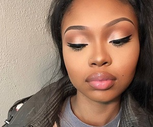 beautiful, lips, and makeup image
