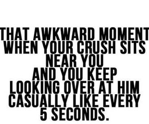 crush and awkward image