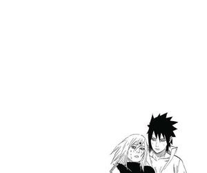 naruto, sasuke uchiha, and sasusaku image