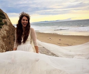 troian bellisario, wedding, and pll image