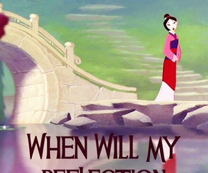 disney, mulan, and quote image