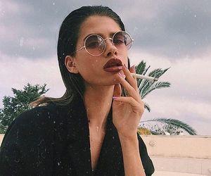 fashion, mode, and smoke image