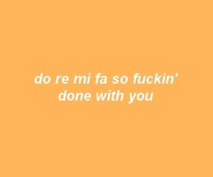 Lyrics, you, and do re mi image