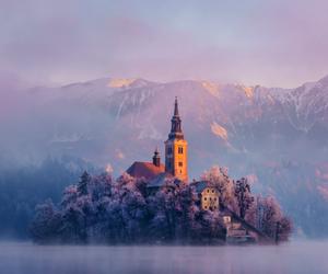 beautiful, slovenia, and purple image