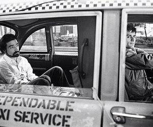 martin scorsese, robert de niro, and taxi driver image