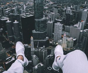 city, shoes, and new york image
