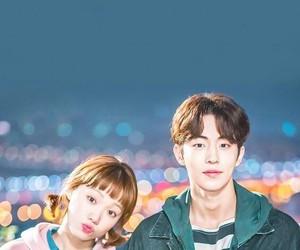 nam joo hyuk, lee sung kyung, and kdrama image