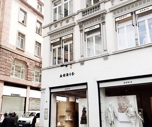 fashion, store front, and akris image