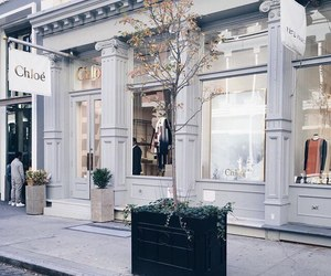 chloe, fashion, and store front image