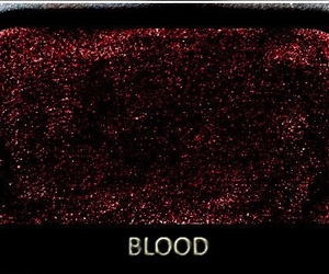 blood, cool, and make up image