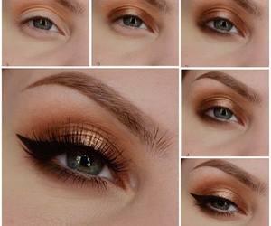 eye, eyes, and eyemakeup image