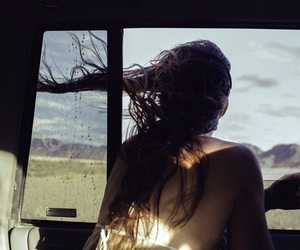 air, indie, and long hair image