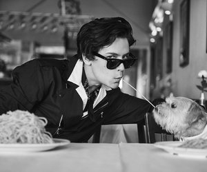 cole sprouse, dog, and riverdale image