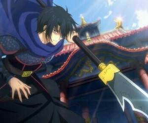 hak, akatsuki no yona, and anime image