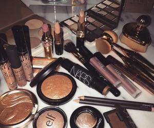makeup, nars, and lipstick image